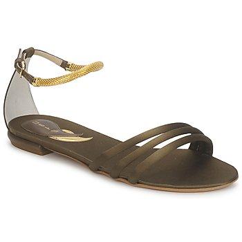 Schuhe Damen Sandalen / Sandaletten Etro 3461 Army