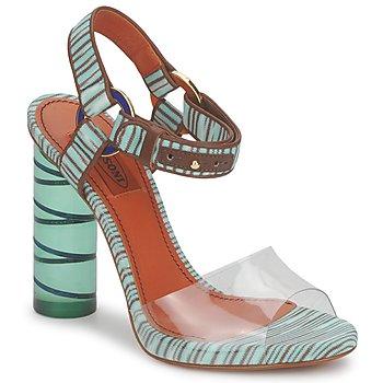 Chaussures Femme Sandales et Nu-pieds Missoni TM63 Eau