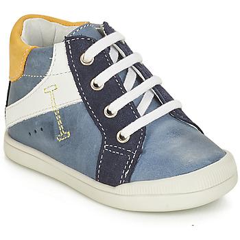 Schuhe Jungen Boots André PEDALO Blau