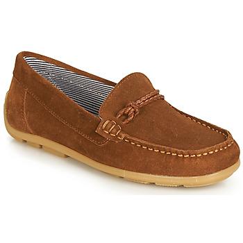 Schuhe Mädchen Derby-Schuhe André GASPARD Braun