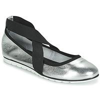 Schuhe Damen Ballerinas André ALYSSA Silbern