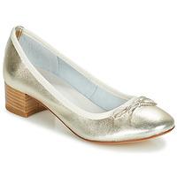 Schuhe Damen Pumps André POETESSE Gold