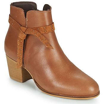 Chaussures Femme Bottines André ROMANE Beige