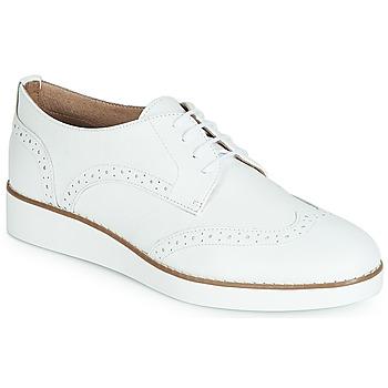 Chaussures Femme Derbies André CAROU Blanc