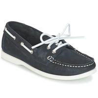 Schuhe Damen Bootsschuhe André CATBOAT Blau