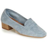 Schuhe Damen Slipper André SENLIS Blau