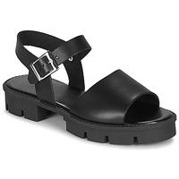 Schuhe Damen Sandalen / Sandaletten André ABRICOT Schwarz