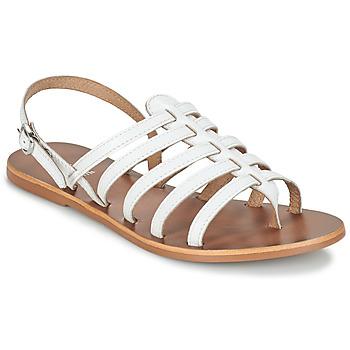 Schuhe Damen Sandalen / Sandaletten André ROSIANE Weiß