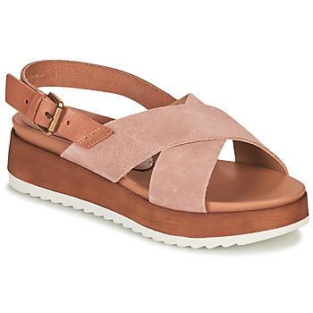 Schuhe Damen Sandalen / Sandaletten André REINE Rose