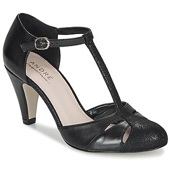Chaussures Femme Escarpins André CANCAN Noir