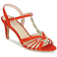 Schuhe Damen Sandalen / Sandaletten André CALECHE Rot