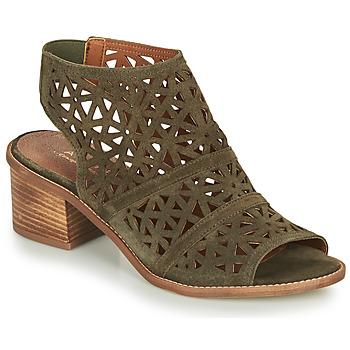 Chaussures Femme Sandales et Nu-pieds André CARIOCA Kaki