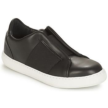 Schuhe Damen Sneaker Low André AEROBIE Schwarz