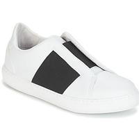 Schuhe Damen Sneaker Low André AEROBIE Weiß
