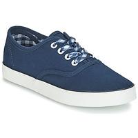 Schuhe Damen Sneaker Low André STEAMER Blau
