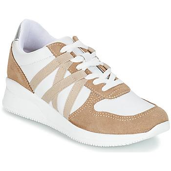 Schuhe Damen Sneaker Low André ALLURE Beige
