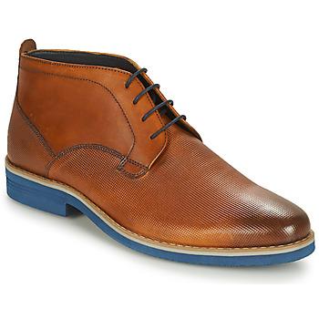 Schuhe Herren Boots André CLAPOTIS Cognac