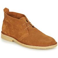Schuhe Herren Boots André BRICE Braun