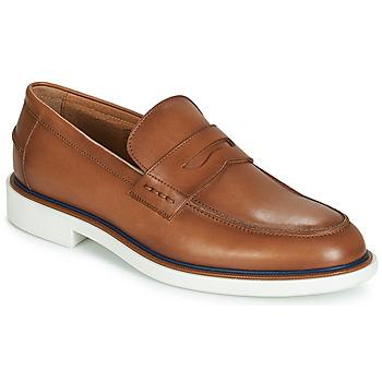Schuhe Herren Slipper André MILANO Braun,