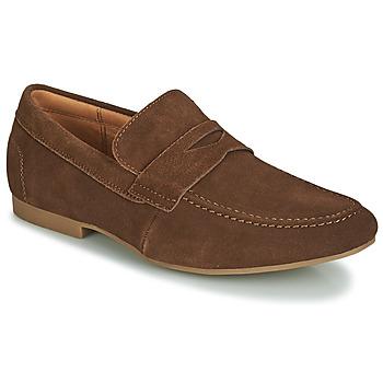 Schuhe Herren Slipper André TONI Braun,