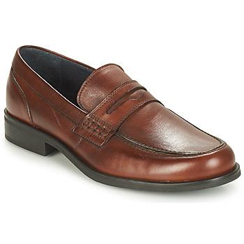 Schuhe Herren Slipper André KOLL Braun,