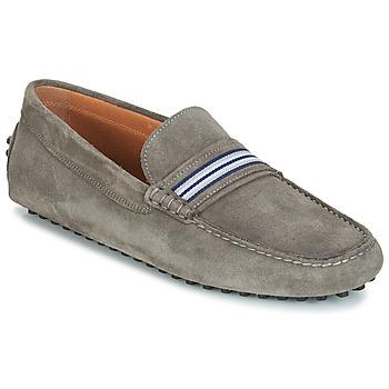 Schuhe Herren Slipper André PITCHOU Grau