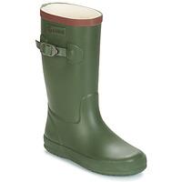 Chaussures Garçon Bottes de pluie Aigle PERDRIX Kaki