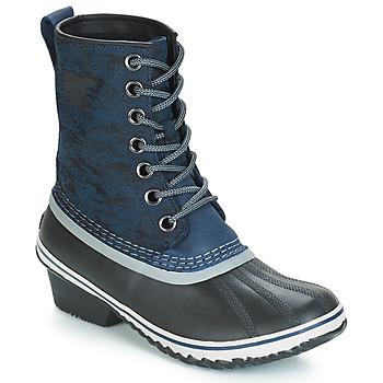 Chaussures Femme Bottes de neige Sorel SLIMPACK 1964 Bleu / Noir