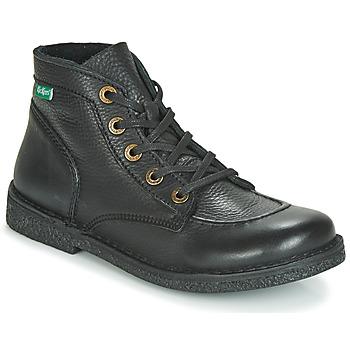 Chaussures Femme Boots Kickers LEGENDIKNEW Noir
