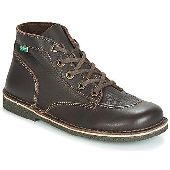 Chaussures Femme Boots Kickers LEGENDIKNEW Marron