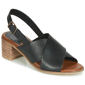 Schuhe Damen Sandalen / Sandaletten Kickers VICTORIANE Schwarz