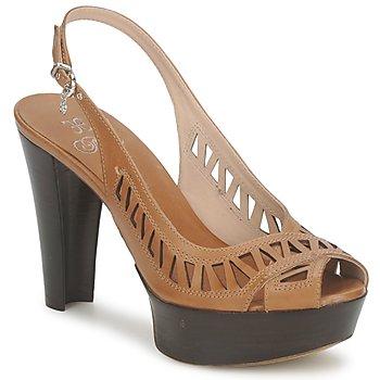 Schuhe Damen Sandalen / Sandaletten Fabi CALECHE Braun,
