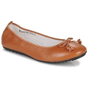 Schuhe Damen Ballerinas Mac Douglas ELIANE Kastanienbraun