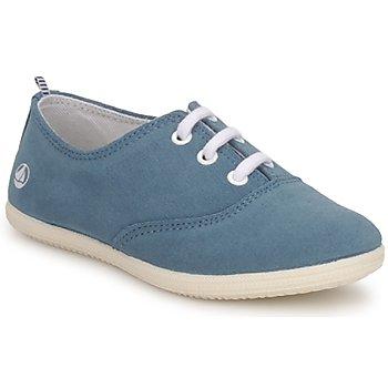Schuhe Kinder Sneaker Low Petit Bateau KENJI GIRL Blau