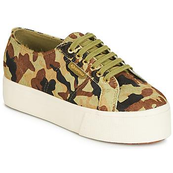 Schuhe Damen Sneaker Low Superga 2790 LEAHORSE