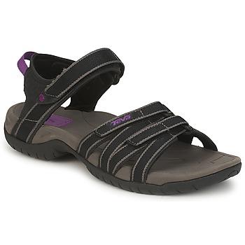 Chaussures Femme Sandales et Nu-pieds Teva TIRRA Noir / Gris