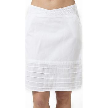 Vêtements Femme Jupes La Cotonniere JUPE ADRIANA Blanc