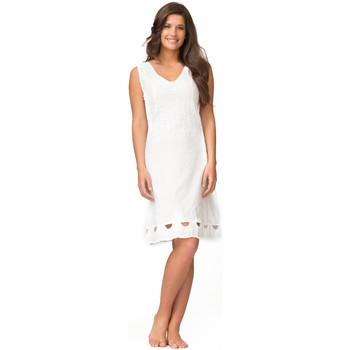 Vêtements Femme Robes courtes La Cotonniere ROBE DAISY Blanc