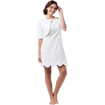 Vêtements Femme Robes courtes La Cotonniere ROBE GINA Blanc