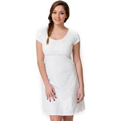 Vêtements Femme Robes courtes La Cotonniere ROBE COURTE PATSY Blanc