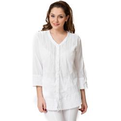 Vêtements Femme Chemises / Chemisiers La Cotonniere CHEMISE VIKI Blanc