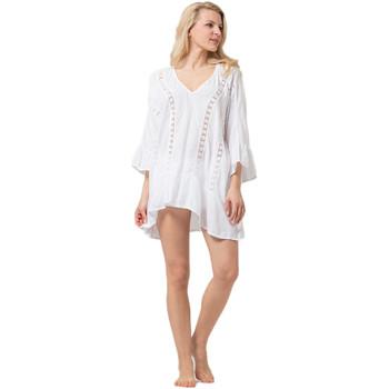 Vêtements Femme Tuniques La Cotonniere TUNIQUE IVANA Blanc
