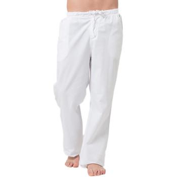 Vêtements Homme Pantalons 5 poches La Cotonniere PANTALON CLASSIQUE Blanc