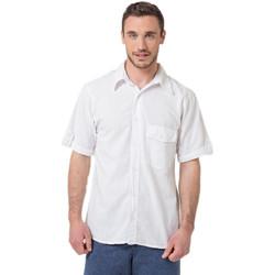 Vêtements Homme Chemises manches courtes La Cotonniere CHEMISE SEYCHELLES Blanc