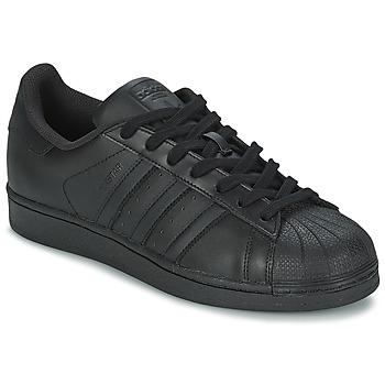 Schuhe Sneaker Low adidas Originals SUPERSTAR FOUNDATION Schwarz