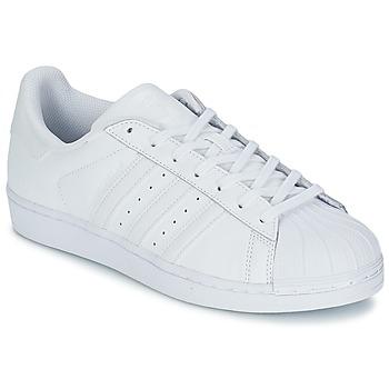Schuhe Sneaker Low adidas Originals SUPERSTAR FOUNDATION Weiss
