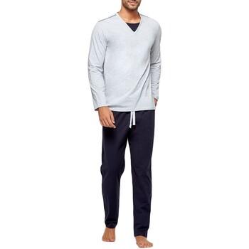 Vêtements Homme Pyjamas / Chemises de nuit Impetus Pyjama long homme en coton organique Gris