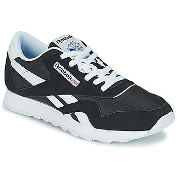 Schuhe Sneaker Low Reebok Classic CL NYLON Weiß
