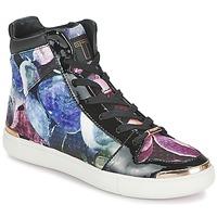 Chaussures Femme Baskets montantes Ted Baker MADISN Noir / Multicolore