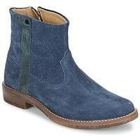 Chaussures Fille Boots Shwik TIJUANA STRIPES Marine